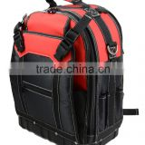 600D 1680D Heavy duty backpack tool bag hard base tool bag Rubber Bottom tool bag OED OMD