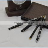 Customised logo promotional ballpoint ball slim hotel ball-point metal pen
