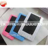 shenzhen top manufacturer 7'' ereader OEM brand button style with good quality,800*480,rockchip 2738,4G memory,PDF