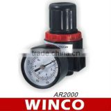 Hot sale AR Series adjustable Pneumatic air filiter pressure regulator valve AR1000 to AR5000 in china supplier