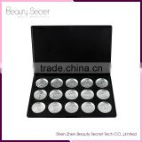 empty makeup compact aluminum cans 15pcs empty eyeshadow pan without MOQ