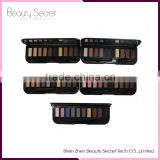 Wholesale private label cosmetics 10 color makeup palette on sale