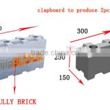 INquiry about China precast concrete mould for sale lite blocks clc mould interlocking CLC moulds