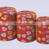 Best choice for cookie tin cans,high quality round tinplate cans,wholesale metal tin cans