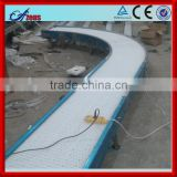 Good quality movable belt conveyor roller conveyor racks plastic injection molding conveyor belt