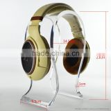 2017 China wholesale Custom fancy acrylic headset display headphone holder
