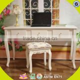 2017 New design wooden table and chairs cheap wooden table and chairs bedroom furniture wooden table and chairs W08G187