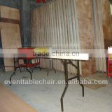 "30*96"" PVC table edge plywood wooden foldable table"