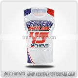 New design sleeveless Sublimated Volleyball Uniform Team Wear Top Custom Volleyball Jersey