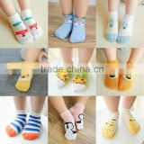 S33242W Comfortable baby cartoon socks toddler booties anti-slip kids causual sock