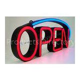 Indoor Led Open Neon Sign / Vacuum Formed Light Box / Neon Bar Signs OEM