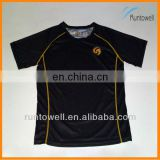 2013 custom design coolmax running wear / custom tight apparel/ 100% polyester running shirt / coolmax running shirt