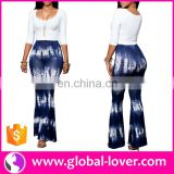 lady baggy harem pants and tops set plus size women ruffle capri pants