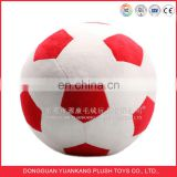 Supply all kinds of plush ball round neck pillow football shape pillow