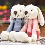hot selling girl birthday valentine gifts couple rabbit plush toys custom