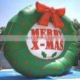 Inflatable Christmas wreath, High Quality Inflatable Christmas wreath,Inflatable Outdoor wreath