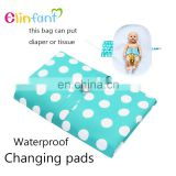 Waterproof Portable Baby Diaper Changing Mat Nappy Changing Pad Travel Changing Station Clutch Baby Care Products