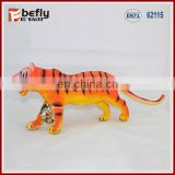With sound function tiger figures plastic animal shantou toys factory