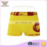 OEM servise animal printing 92% nylon woven wholesale mens boxer shorts