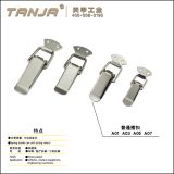 TANJA A01 mild steel toggle latch / overcentre fastener / plain draw latch