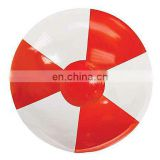 Promotion 30cm White and Red PVC Beach Balls Inflatable