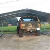 6x6x3m High Strength galvanized metal frame steel carport truck cover shed