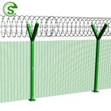 Dark green high security fence export to Kitwe Zambia