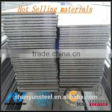 Low carbon flat bar from shanghai factory.flat bar grille.hot rolled spring steel flat bar for building from china supplier