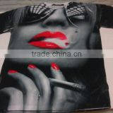 Sublimation t shirts/ cut and sew sublimation t shirts/ high quality sublimation t shirts/ 3D sublimation printing t shirt