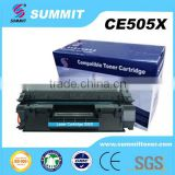 Printer Parts Factory sales toner cartridge Compatible for HP CE505X