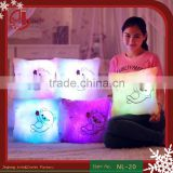 LED Luminous Night Light Love Heart Plush Led Pillow Stuffed Cushion LED Plush Toy Home Decoration
