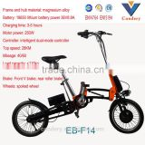 high quality 36v 18650 Lithium Battery kit folding bicycle electric bike electric fat bike EN15194