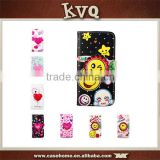 Cute colorful small face leather phone case for LG G2