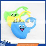 New Waterproof Non-Toxic Silicon Infant Feeding BPA Free Washable Baby Bibs silicone baby bib