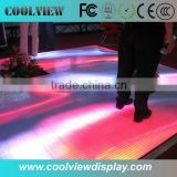 P25 portable convinent use CE certificate led dancing floor stage lights