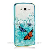 Butterfly Luminous Case For phones Case Cover Hard PC Plastic smart phone cases covers protective shell skin