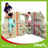 Children Outdoor Adventure Rock Stone Climbing Wall Frame Set Holds for Kids Playground Amusement Park LE.PP.004