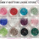 DIY Nail Art Accessories 7x12mm AB Color Teardrop Flatback Crystal Rhinestones Bling Stone Nail Decoration
