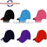 High quality UV-protection baseball cap cotton 6 panel,custom baseball cap