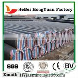 Manufactory HeBei HongYuan Spiral Welded Steel Pipe/Black Iron Pipe Butt Welded Fittings
