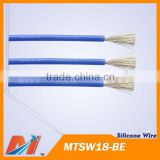 Maytech heat resistant power cable 18AWG Blue Silicone Wire