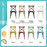 factory wholesale Wooden wedding dining Cross Back X Chair                                                                         Quality Choice