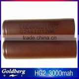 LG high discharge battery LG HG2 18650 35A battery 3000mah LG HE2/HE4/HG2 18650 batterywith fast shipping                                                                         Quality Choice