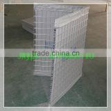 Military site security defensive hesco barriers/hesco bastion walls/galvanized hesco gabion barrier