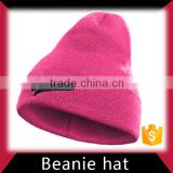 Acrylic Winter Knitted Beanie Hat Manufacturer