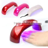 Mini DIY Nail Lamp 9W 100 - 240V LED Light Gel Nail Polish Nail Dryer Led Rainbow UV Lamp For Nail Art Tools