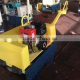 hot sale walk behind road roller WKR700 Japanese hydraulic pump double drum handheld small size