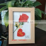 Wholesale China factory 4x6 5x7 6x8 8x10 Wooden PS MDF A1 A2 A3 A4 size picture photo frame