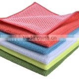 Sinland Microfiber Dish Cloth Best Kitchen Cloths Cleaning Cloths With Poly Scour Side 12Inchx12Inch 5 colors