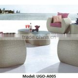 Outdoor garden bali synthetic rattan furniture